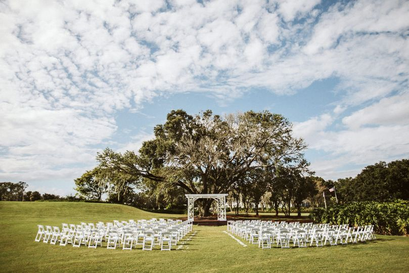 Ceremony setup | Photo Credit: Shaina Deciryan