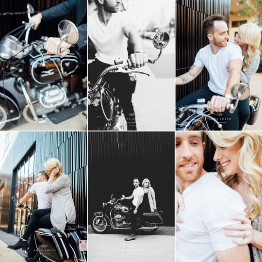 fb motorcycle engagement session anna smith photog
