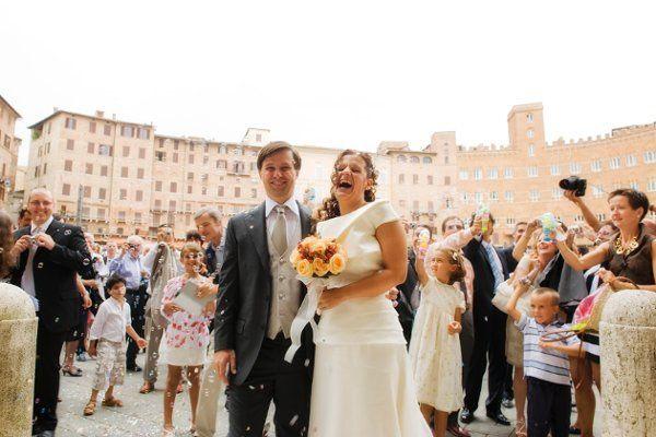 wedding Piazza del Campo Siena