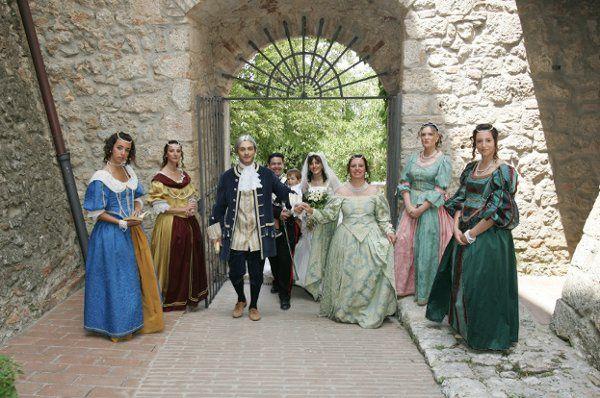 Renaissance wedding theme