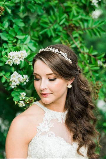 photographer: Jen Burrell Photography?bridal hair: Parlour 232?bridesmaid and bridal makeup: Erika...