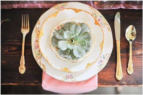 Tmx 1424214976734 Gold Pink Plates Bellevue wedding rental