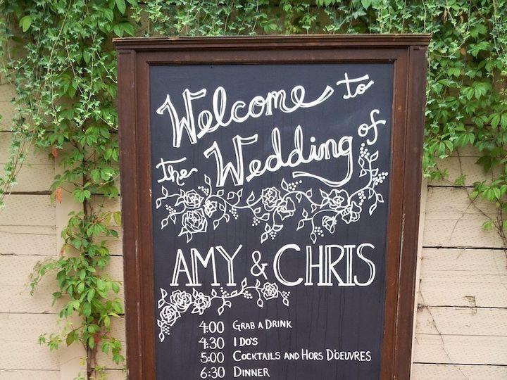 Tmx 1424215394113 1920 Post Office Chalkboard Bellevue wedding rental