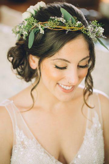 Long Island Wedding  Hamptons, NY Eco Hair and Makeup Artist Sally Biondo Photo...