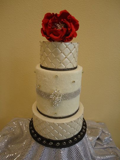 new cake picture red flower 5 25 13