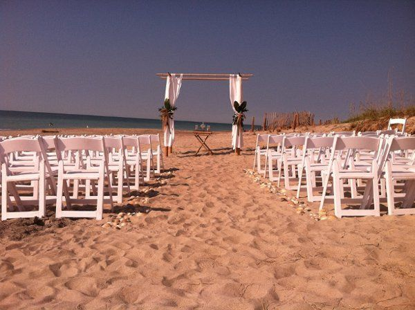 Tmx 1317743430275 LynchCeremony Emerald Isle wedding rental