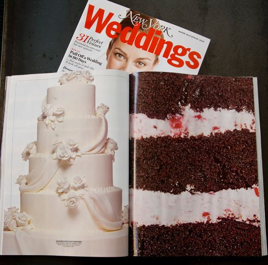 A Simple Cake Wedding Cake New York NY WeddingWire - Weddings Cake Pictures