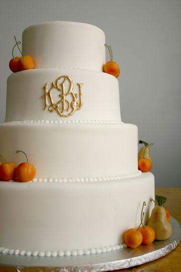 A Simple Cake Wedding Cake New York NY WeddingWire