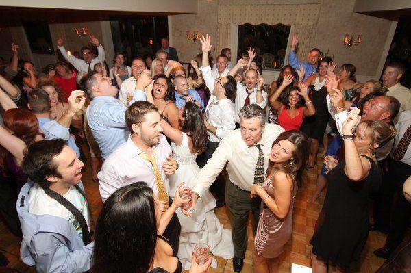 Platinum DJs Wedding Reception at Spring Ford CC