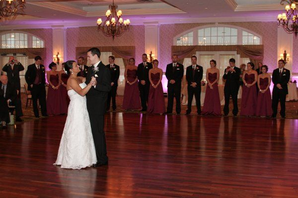 Platinum DJ Brian Smith 1st Dance Rivercrest Golf Club with Uplighting Package