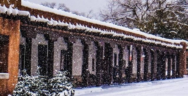 palace ext winter