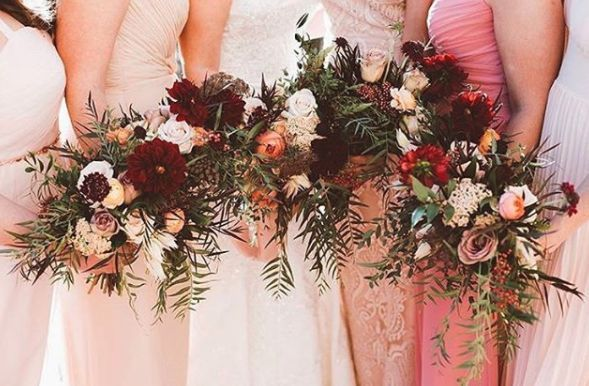 Bridal party bouquet