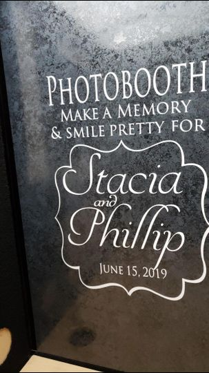 Personalized wedding signs