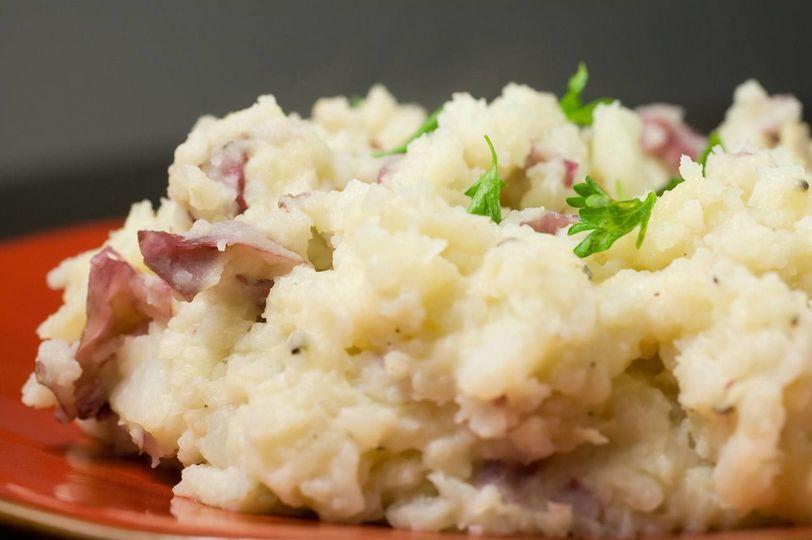 REAL mashed potatoes!