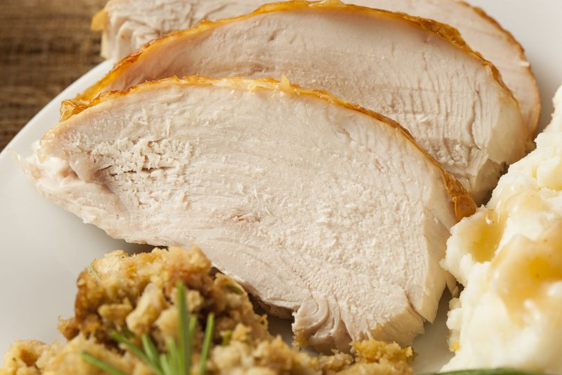Traditional Turkey with sides