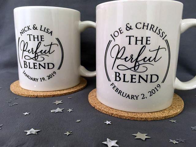 Personalized wedding coffee mug
