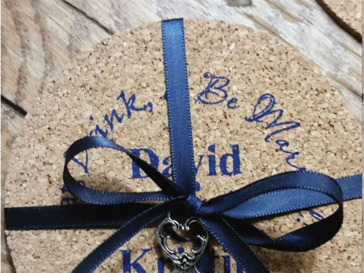 Tmx 1498577715061 Corkcoasters Ribbon2 Albion, PA wedding favor