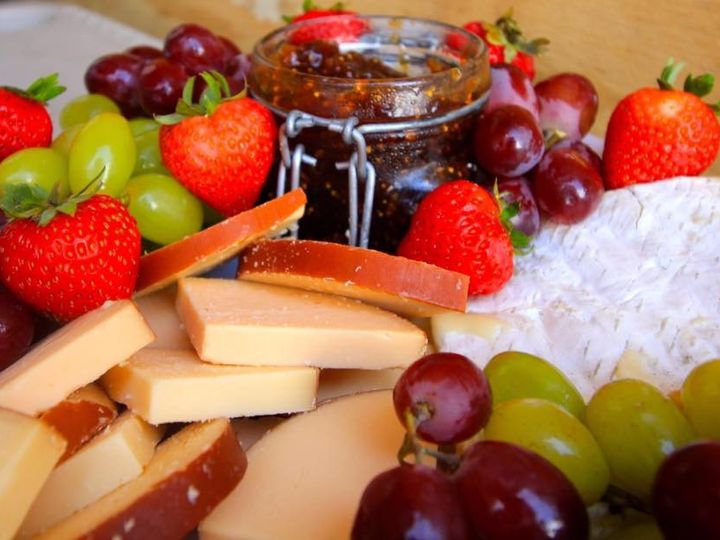 Tmx 1487347619063 Fruit And Cheese Sandwich, MA wedding catering