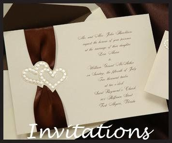 Over 300 Wedding Invitations to choose from.
