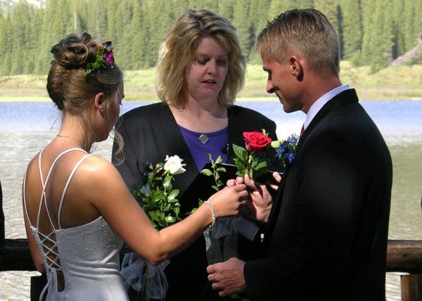 Mother's rose ceremony