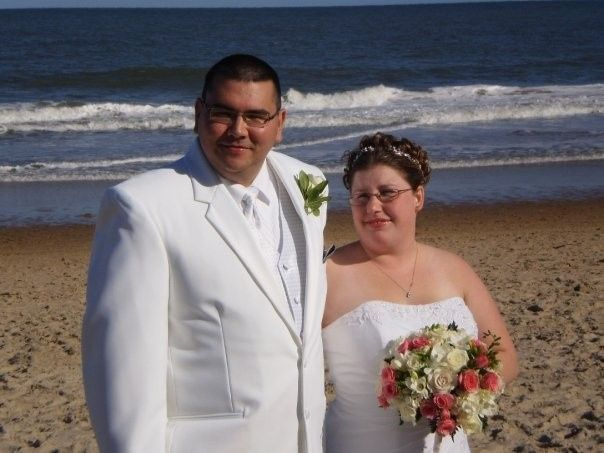 Steven and Lucia Filey A sea side wedding on September 19th, 2009. What a beautiful moment.