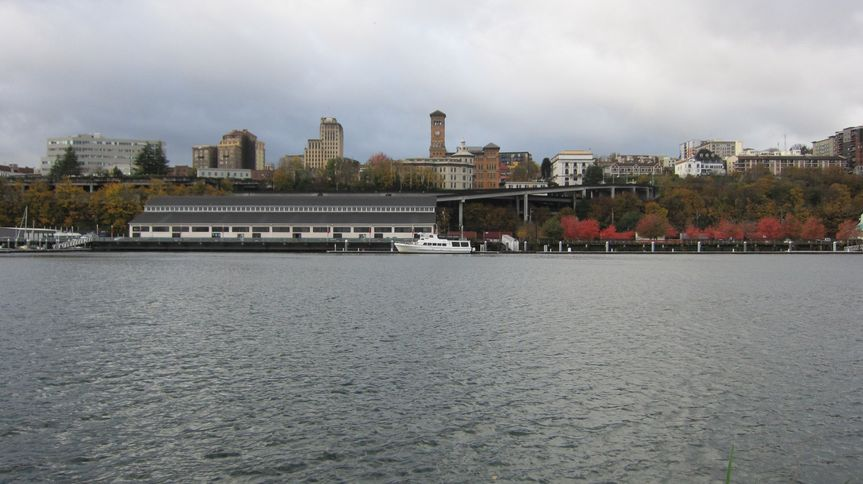View from Commencement Bay