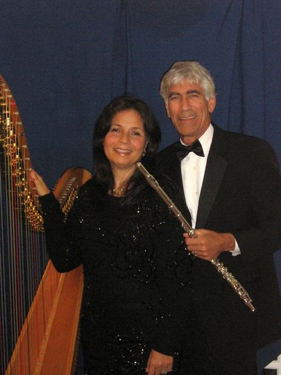 We have an Elegant Classical or Jazz Piano and Flute Ensemble for Your Wedding Ceremony,  Cocktail...