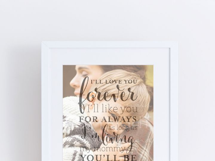 Tmx 1459803261180 W Q04 Ill Love You Forever Ill Like You For Always Trumbull, CT wedding favor