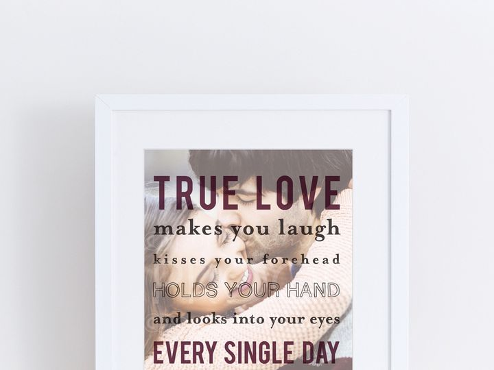 Tmx 1459812323502 H Q24 True Love Makes You Laughprint Trumbull, CT wedding favor