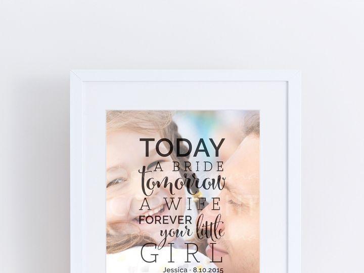 Tmx 1459812366165 W Q05 Forever Your Little Girlprint Trumbull, CT wedding favor