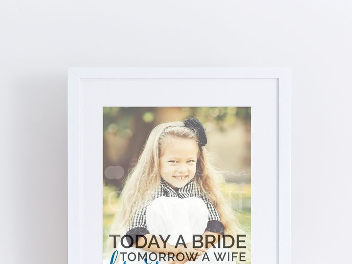 Tmx 1459812380170 W Q07 Fathers Day Gift Photo Quote Art Forever You Trumbull, CT wedding favor