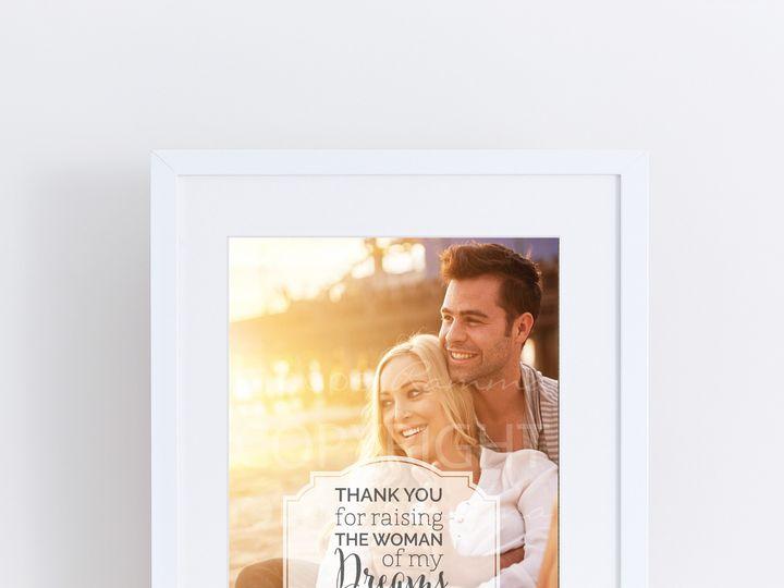 Tmx 1459812432917 W Q11 Parents Of The Brideprint Trumbull, CT wedding favor