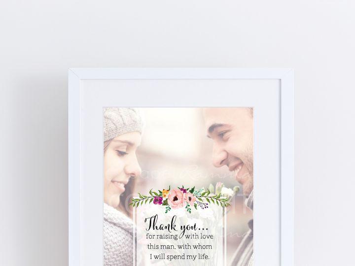 Tmx 1459812449174 W Q13 Parents Of The Groom Classicprint Trumbull, CT wedding favor