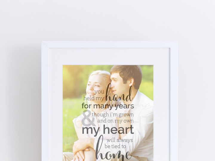 Tmx 1459812473739 W Q19 Personalized Gift For Parents Thank You Wedd Trumbull, CT wedding favor