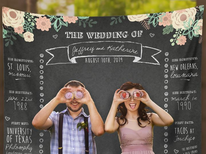 Tmx Chalkboard Wedding Backdrop 51 920322 Trumbull, CT wedding favor