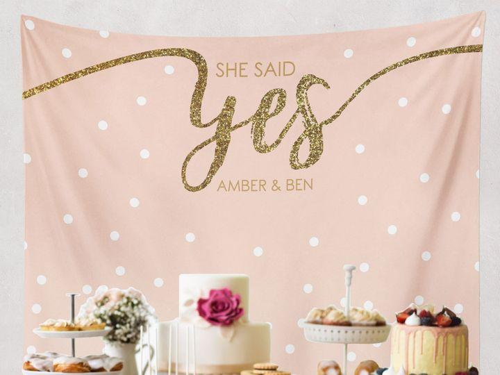 Tmx She Said Yes Blush 51 920322 Trumbull, CT wedding favor
