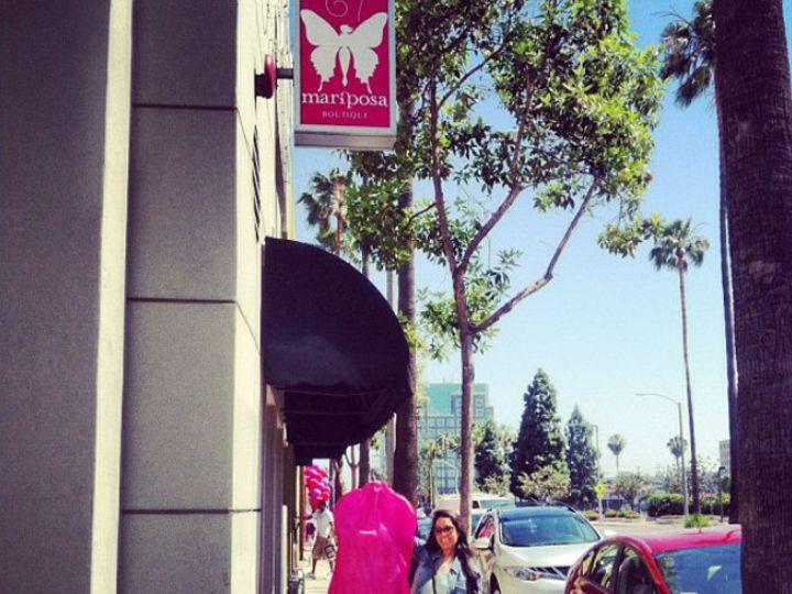 Tmx 1381458807789 Pink Bag Outside Anaheim, California wedding dress