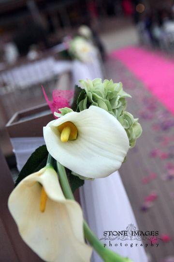Outdoor flower decor