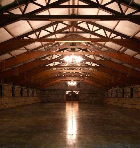 Show barn at milky way farm