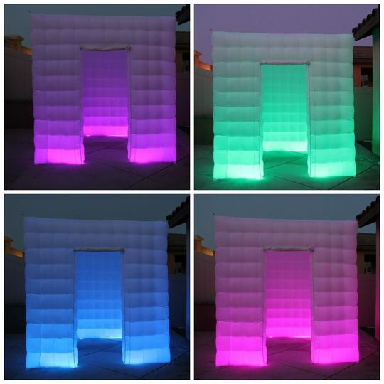 led inflatable photo booth enclosure rsz
