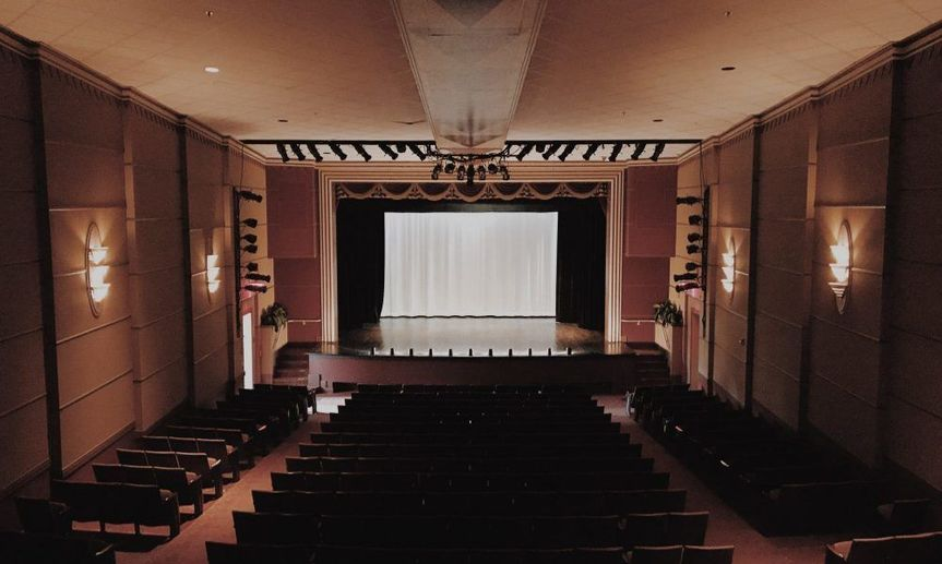 Theater view from Balcony.