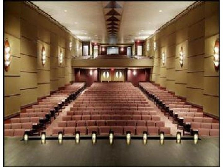 Theater view from stage