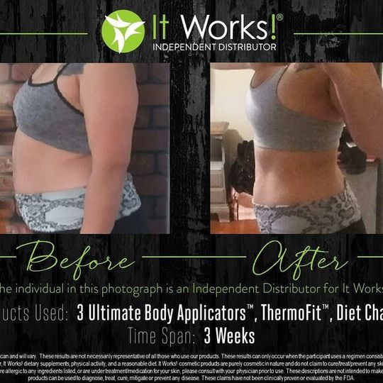 weeks results it works