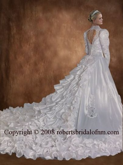 or white-lilac-gold. A matching custom detailed wrap is also included with this dress. Similar...