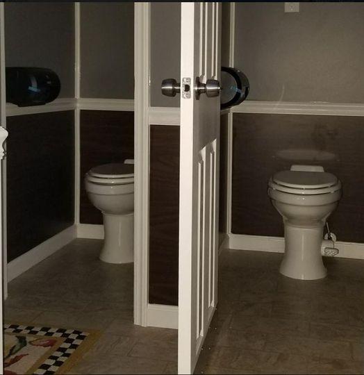 Two bathroom