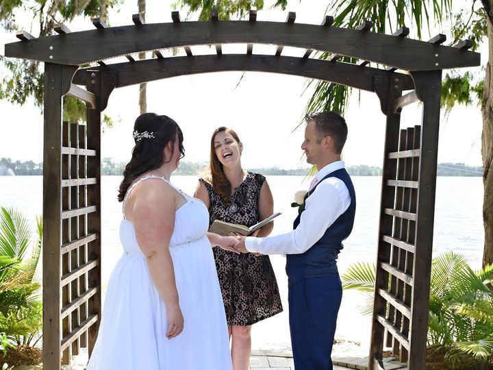Tmx Ceremonies By Catherine Pick Paradise Cove Edmond Rhodes 51 754322 158195650420800 Orange City, FL wedding officiant