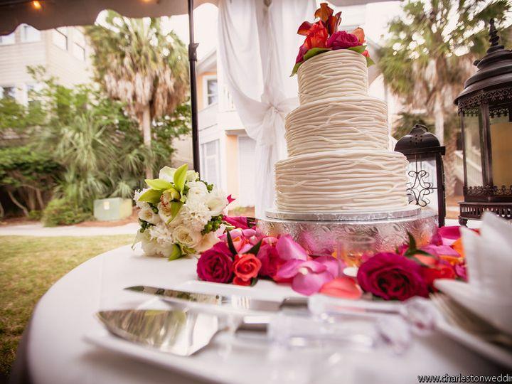 Tmx 1392597826303 Lantingafrostrichardbellphotographylant0642lo North Charleston, South Carolina wedding cake