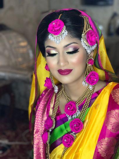 Holud bride