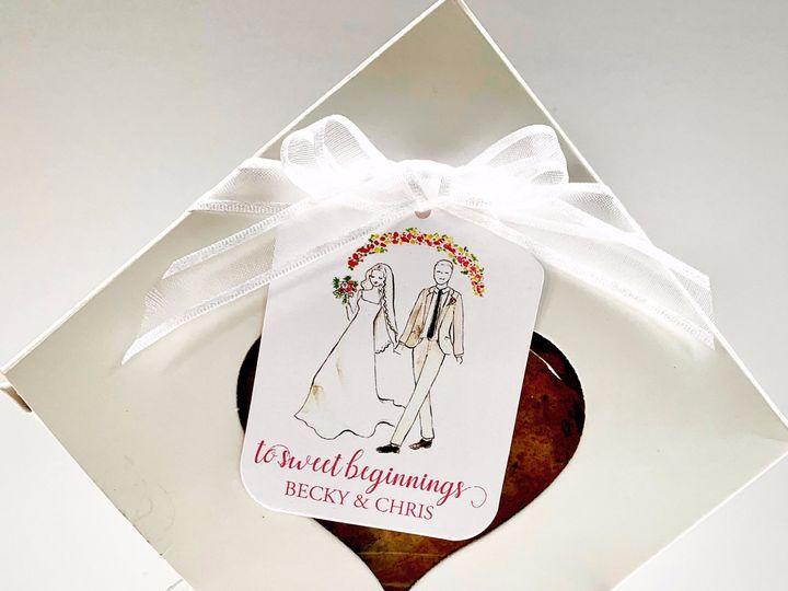 Tmx Illustrated To Sweet Beginnings 51 969322 1566250321 Long Beach, New York wedding favor