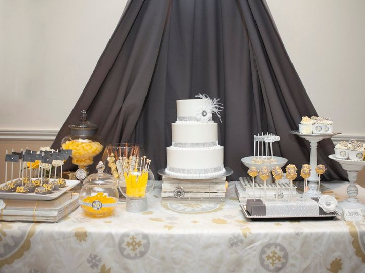Tmx 1361063886347 LowShotTable Fairfield wedding cake